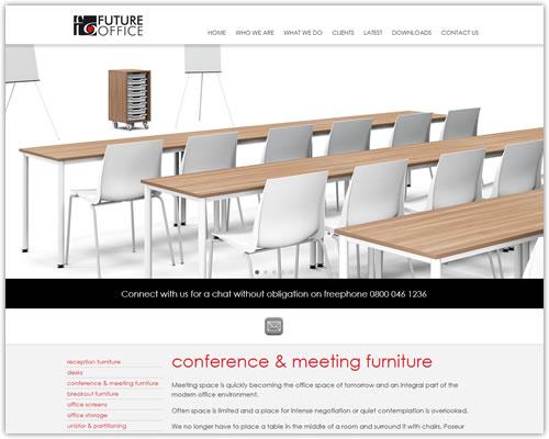 Responsive Website Design for Future Office