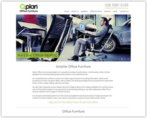 Responsive Web Design for Oplan