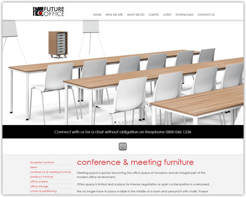 Responsive Website Design for Future Office
